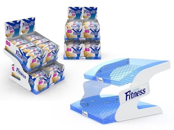 Шоубокс Nestle Fitness, эксклюзивный