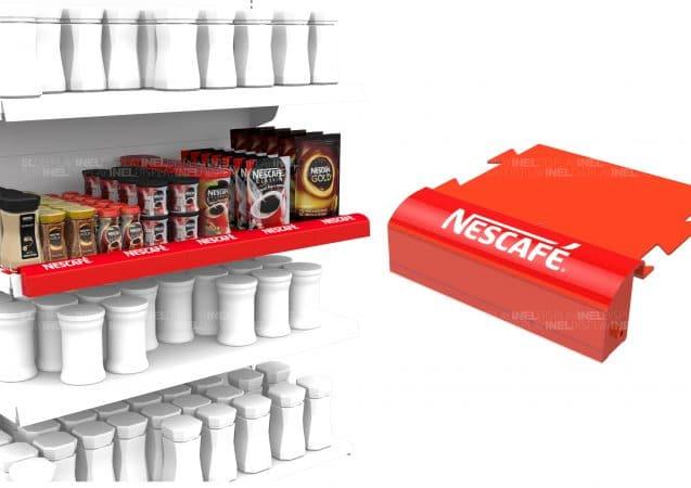 Дисплей на полку Nescafe, эксклюзивный