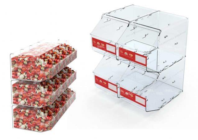 Емкость для весовых конфет 2