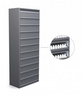 Табачный шкаф 11 полок для сигарет
